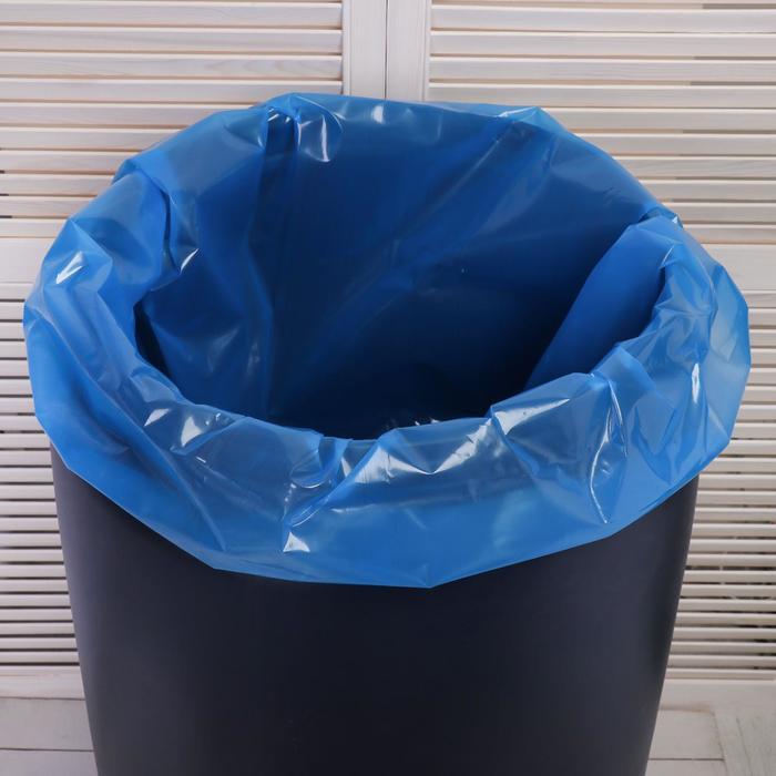 Мешок, вкладыш в бочку, 160 литров, 78 ? 112 см, 100 мкм, обработка от цветения воды