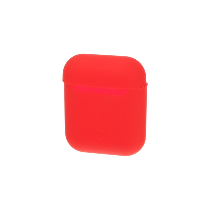 Чехол Silicon Case для AirPods, красный