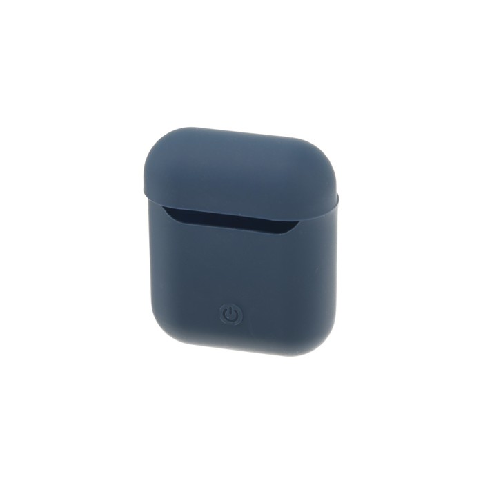 Чехол Silicon Case для AirPods, тёмно-синий