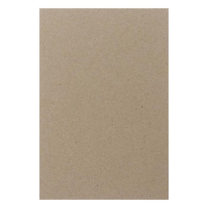 Картон переплетный 3.0 мм 10*15 см 1900 г/м? серый