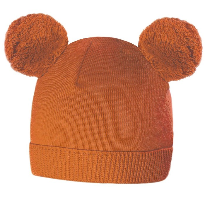 Шапка Funny, цвет оранжевый