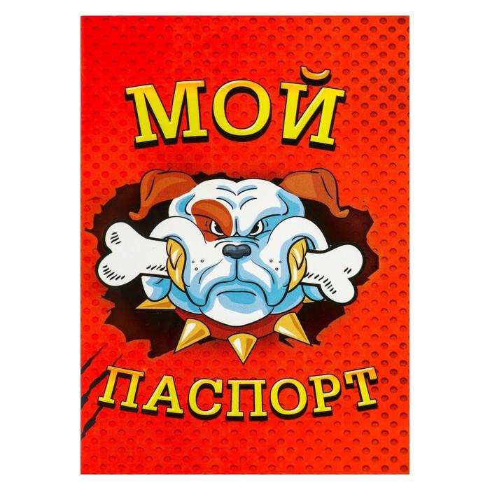 """Ветеринарный паспорт международный """"Мой паспорт - Мои правила"""""""
