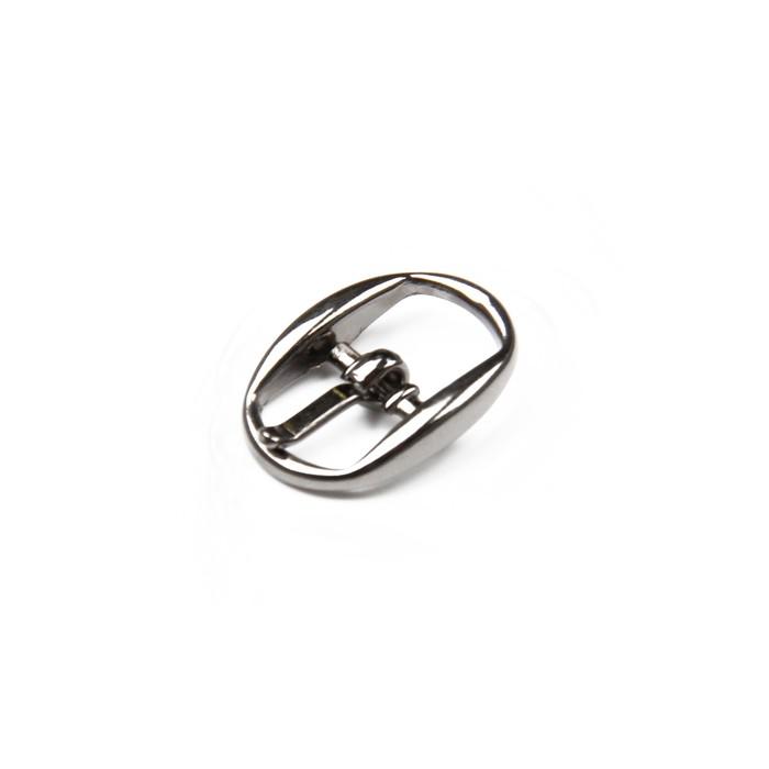 Пряжка для босоножек, 10 мм, цвет светлый никель