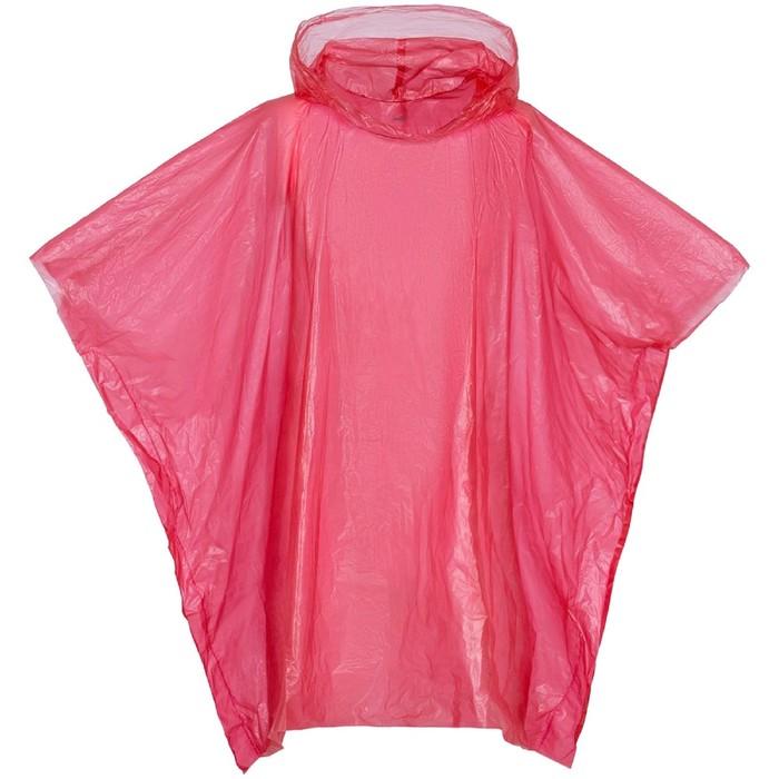 Дождевик-пончо RainProof, цвет красный