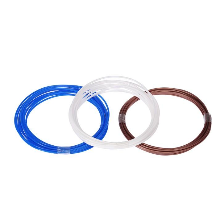 Пластик ABS, для 3D ручки, по 3.5 м, 3 цвета в наборе МИКС