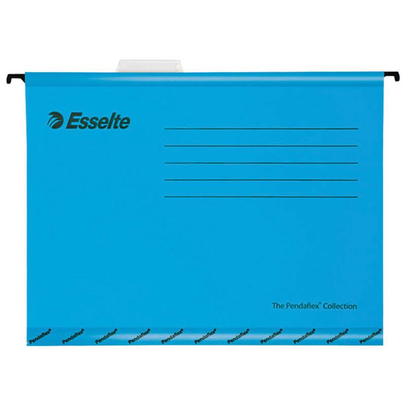 """Подвесная папка Esselte """"Pendaflex Standart"""", А4, картон, 205г/м2, синяя"""