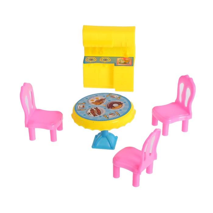 Набор мебели для кукол «Домик», МИКС