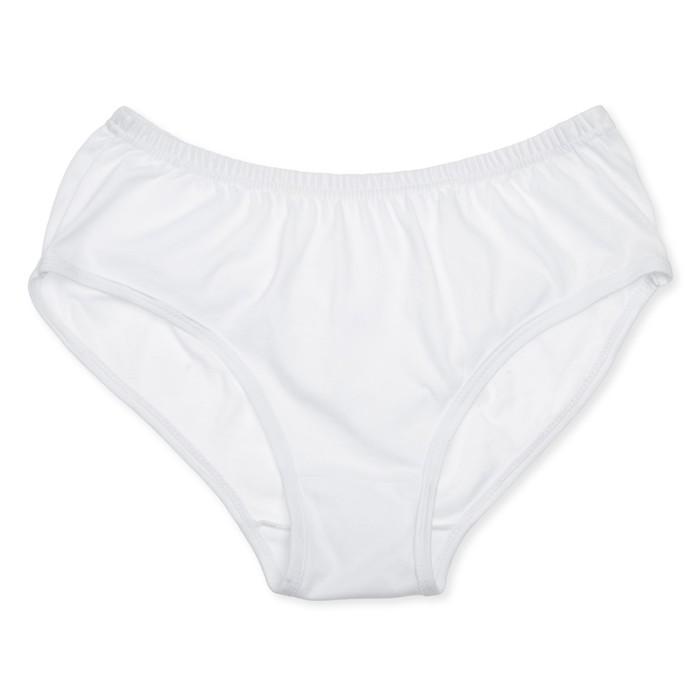Трусы женские слипы, цвет белый, размер 52