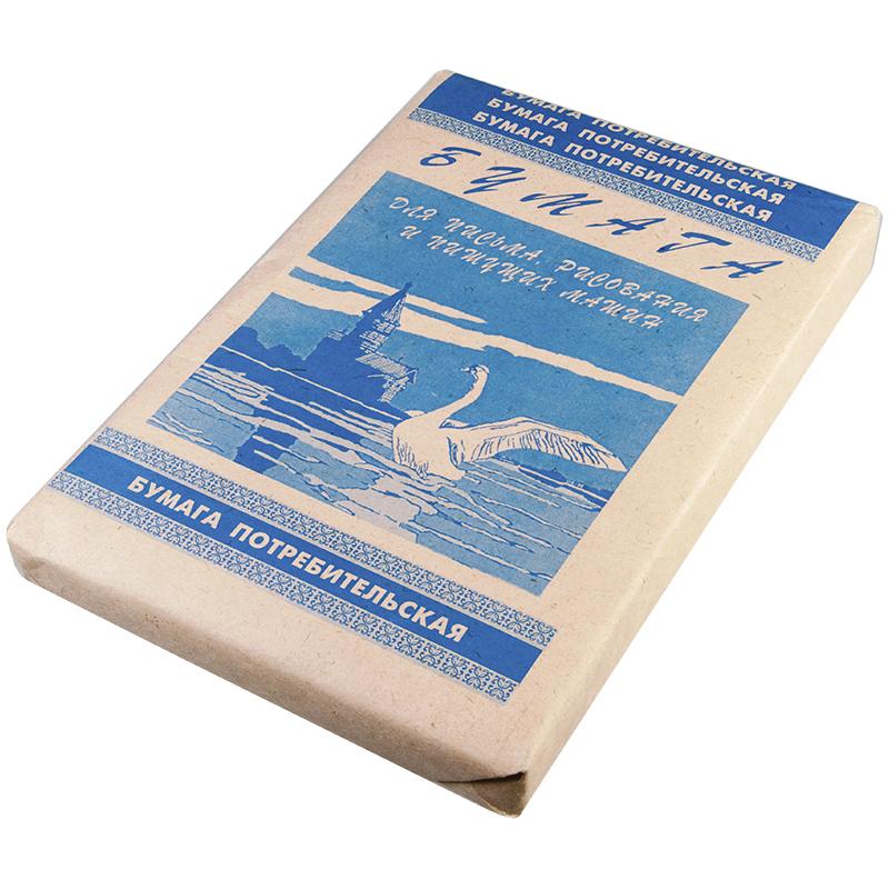 Бумага писчая Кондопога, А4, 500л., 45г/м2, 60%