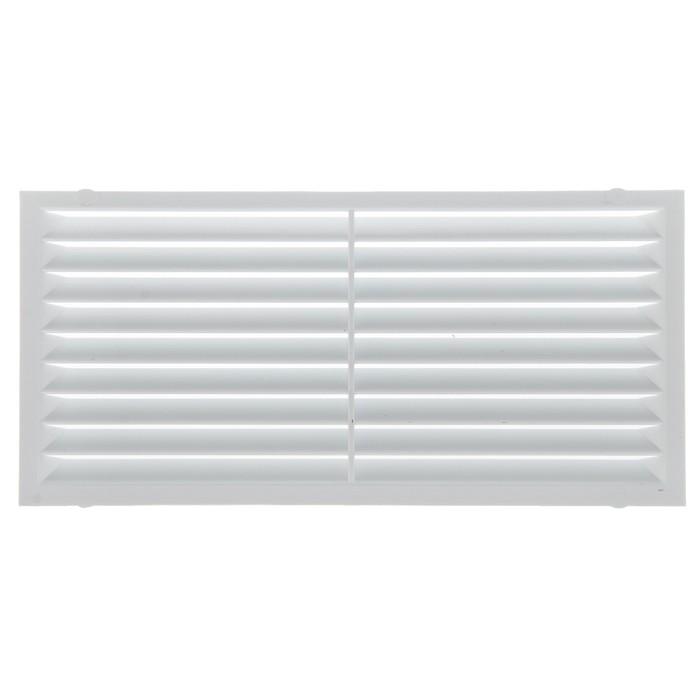 Решетка вентиляционная ERA 1708 С, 171x81 мм, неразъемная, с сеткой