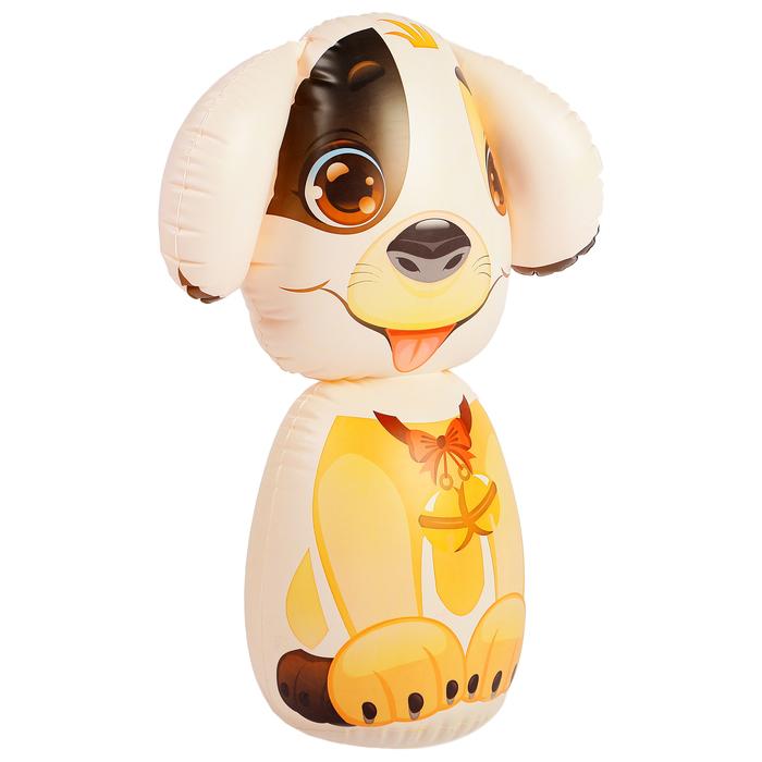 Игрушка надувная «Собачка», 43 см, МИКС