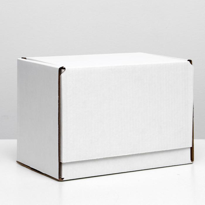 Коробка самосборная, белая, 26,5 х 16,5 х 19 см