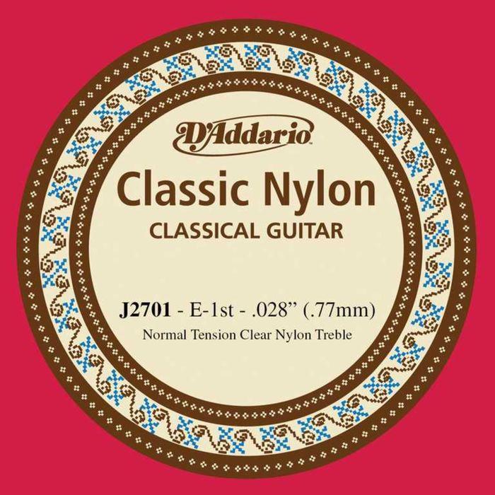 Отдельная первая струна для классической гитары D