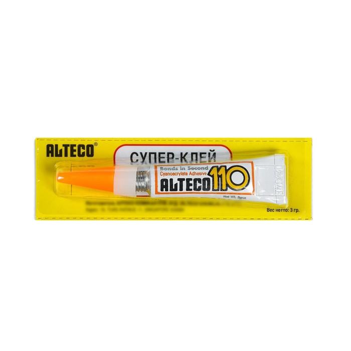 Суперклей Alteco-110, 3 г