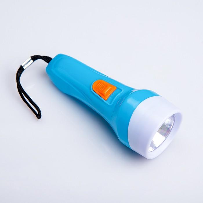 """Фонарь ручной """"Вьюрок"""", 1 LED, 4х11 см, микс"""