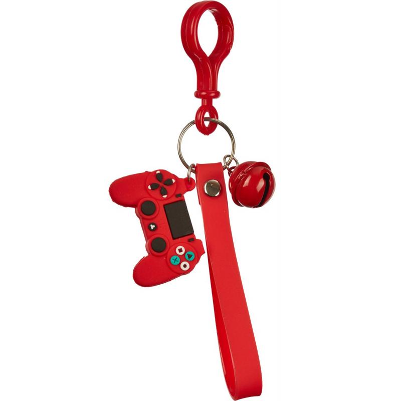 Брелок Джойстик красный 3x4,5 см