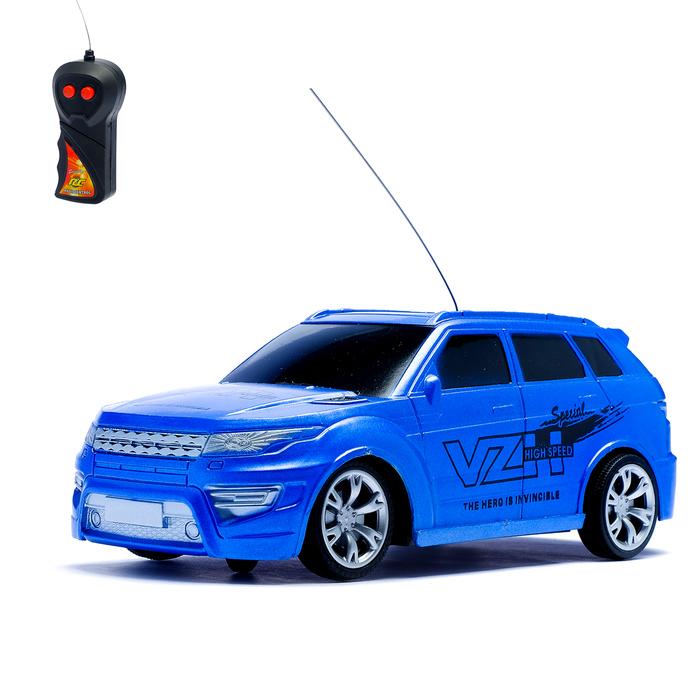 Машина радиоуправляемая «Внедорожник», работает от батареек, 1:24, цвета МИКС