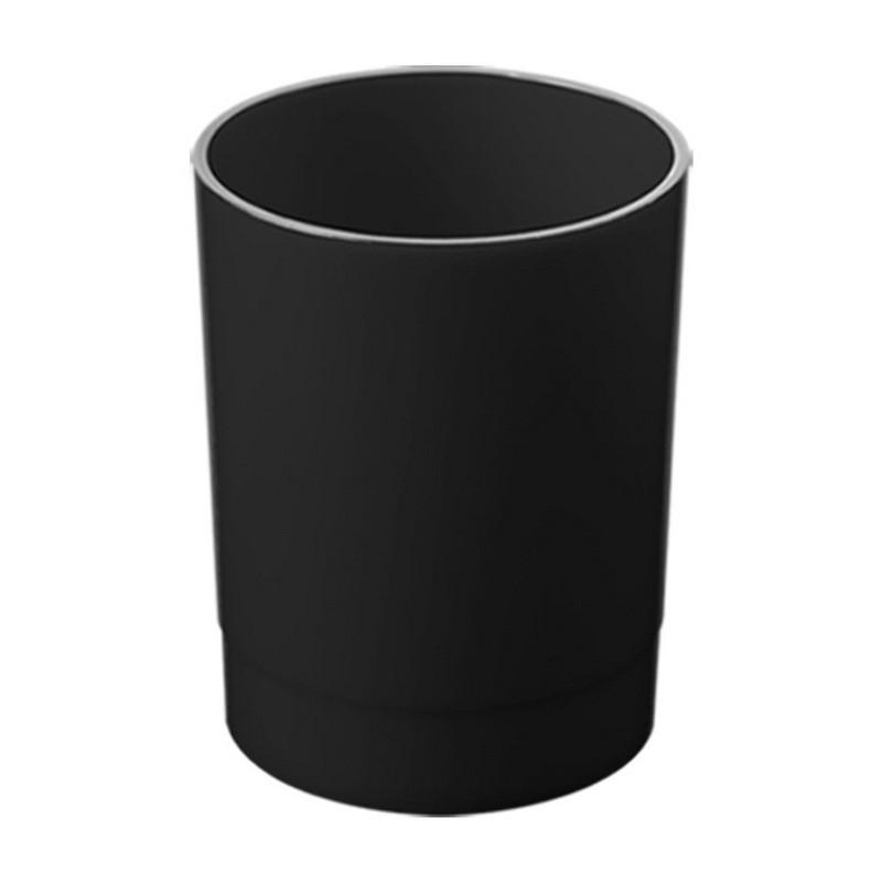 Подставка стакан ручек и карандашей Attache Economy Офис черный ОФ777АЕ
