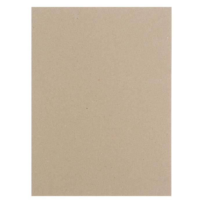 Картон переплетный 1.5 мм 18*24 см 950 г/м? серый