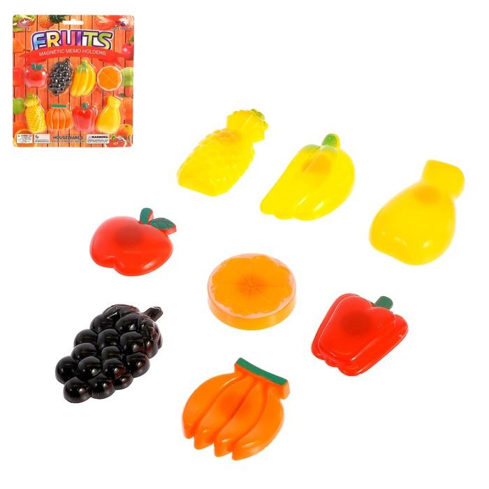 Игровой набор «Фрукты-овощи», на магните
