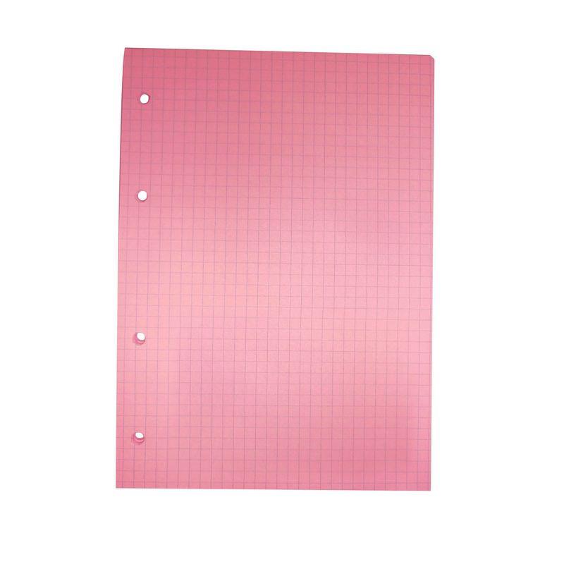 Сменный блок тонир,розовый,80л,А5