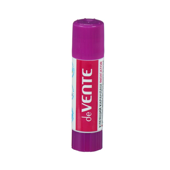 Клей-карандаш Magic PVA, 8 г, deVENTE Indicator, прозрачный при высыхании, индикатор фиолетовый