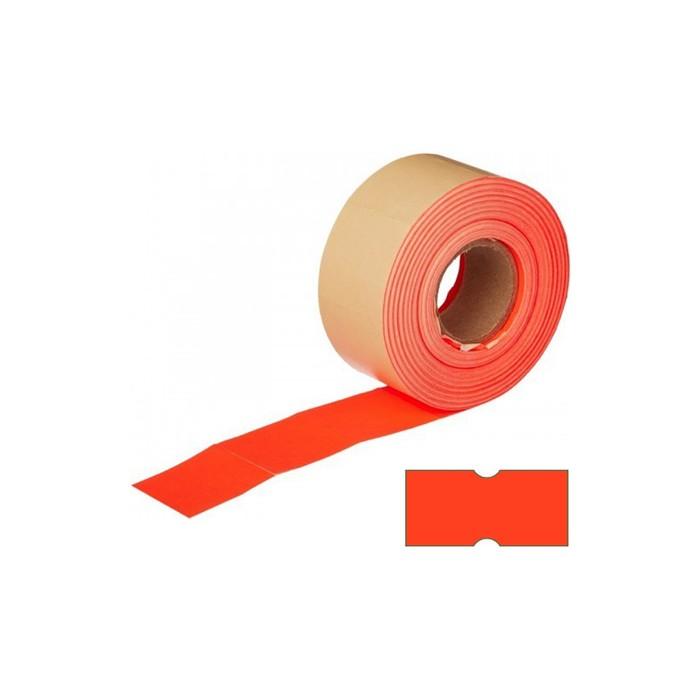 Этикет-лента 21,5 х 12 мм, красная, 800 этикеток
