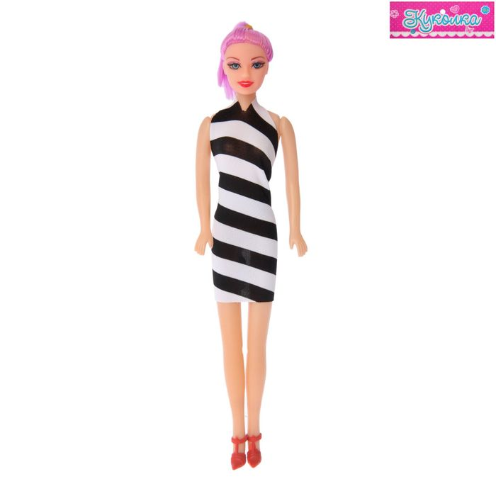 Кукла-модель «Оленька» в вечернем платье, МИКС