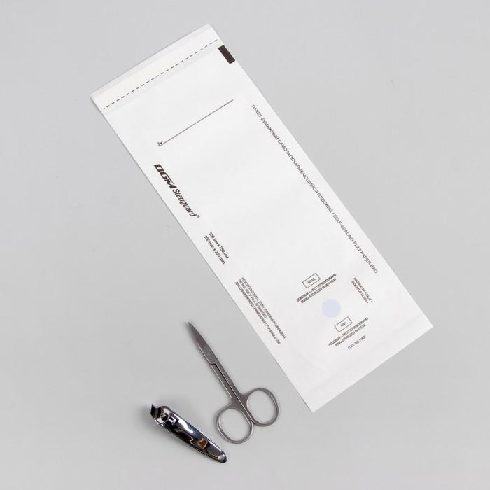 Пакет для стерилизации, 100 ? 250 мм, цвет белый