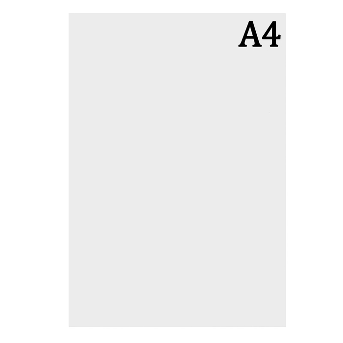 Ватман чертёжный, А4, 160 г/м2
