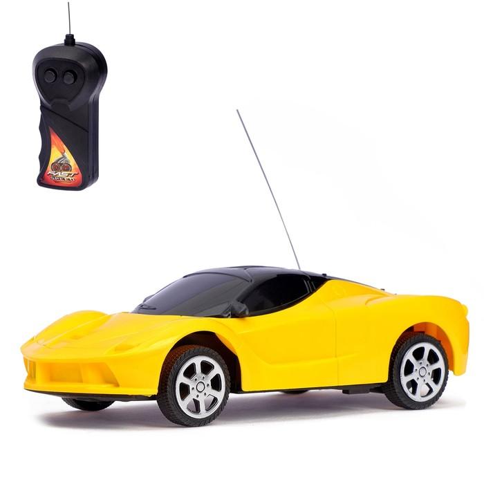Машина радиоуправляемая «Спорткар», 1:24, работает от батареек, МИКС, в пакете