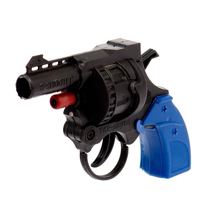 Пистолет «Выстрел», стреляет 8-ми зарядными пистонами