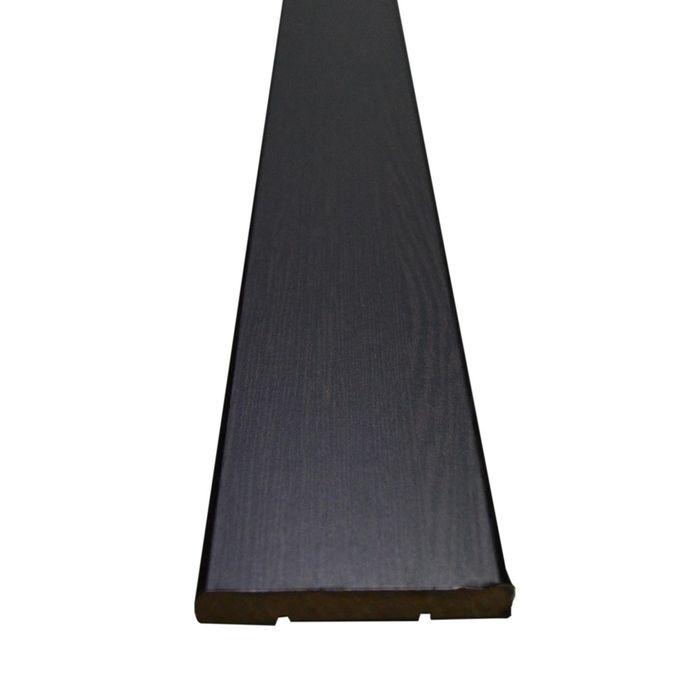 Наличник МДФ плоский Венге 7,5x70x2150