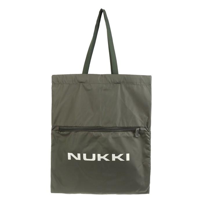 Сумка-рюкзак Nukki №63 51*41 см, хаки