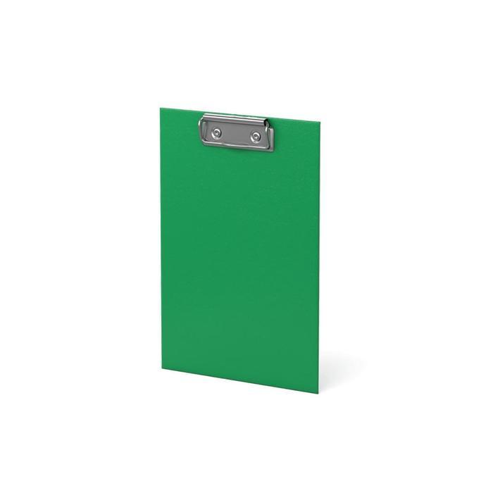 Планшет с зажимом А5, из картона с износостойким покрытием, Erich Krause Standard, зелёный