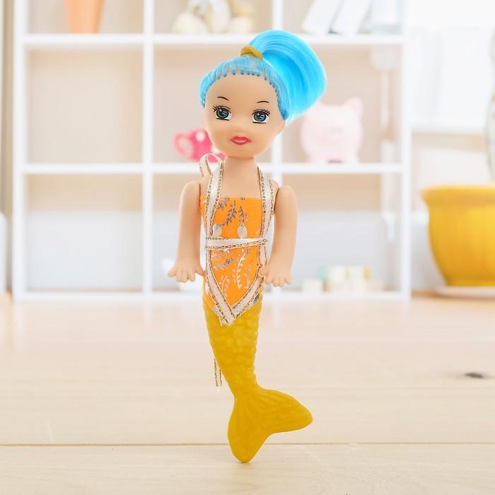 Кукла малышка «Русалка», МИКС