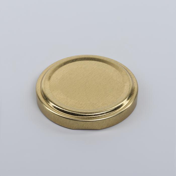 Крышкa для консервировaния «Елaбугa», ТО-58 мм, винтовaя, лaкировaннaя, цвет золотой