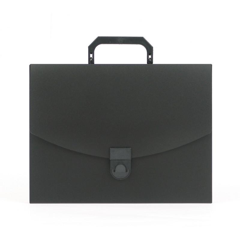 Папка-портфель пласт. ATTACHE A4/06 40мм черный