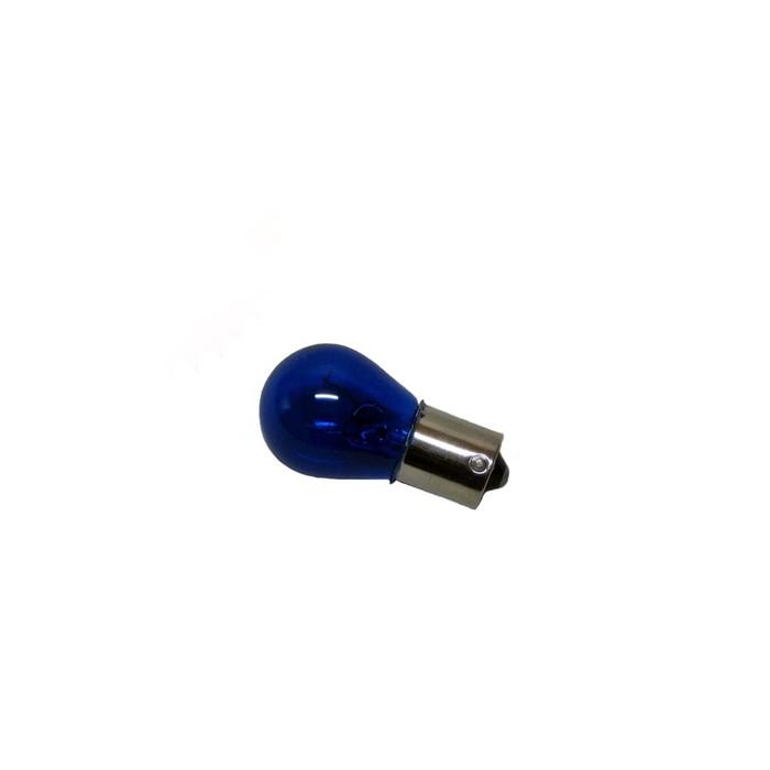 Лампа автомобильная Луч, P21, ВА15s, 12 В, 21 Вт, синяя