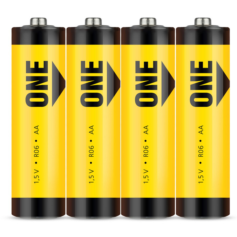Батарейка SmartBuy ONE AA (R06) солевая, SB4