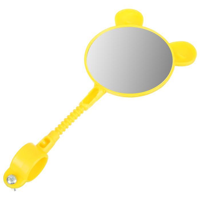 Зеркало заднего вида, цвет желтый