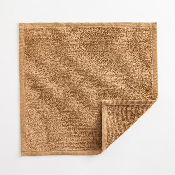 Полотенце махровое Экономь и Я 30х30 см,  цв. крем-брюле, 100% хл, 260 гр/м2