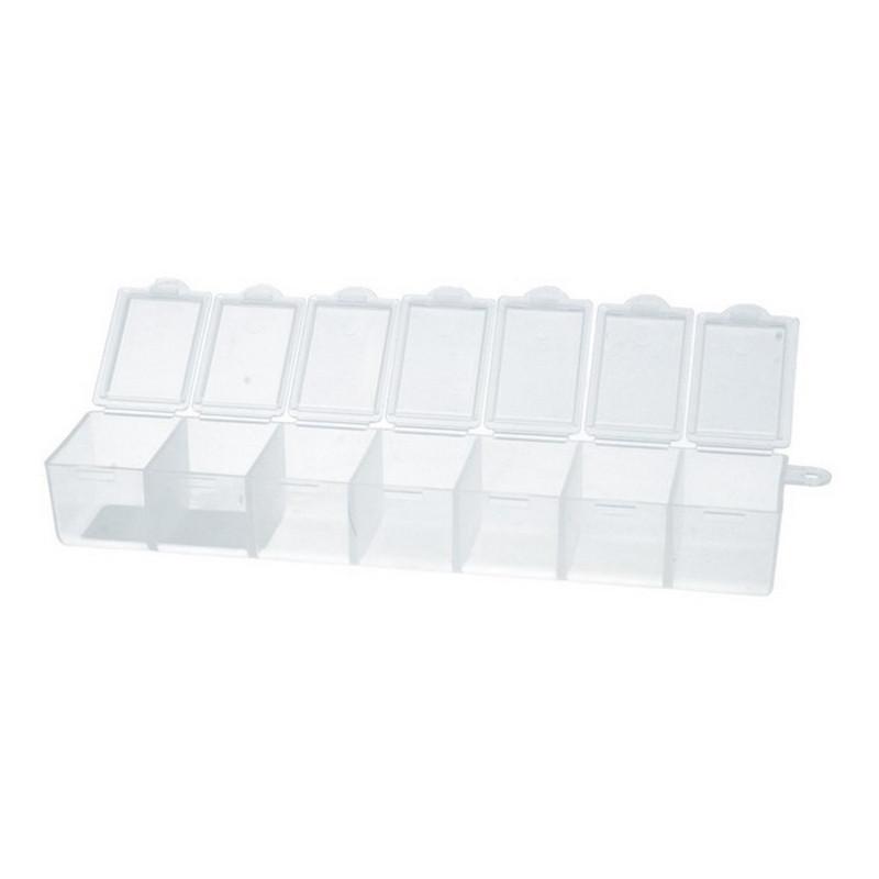 Коробки для швейных принадлежностей Gamma, пластик прозрачный, T-35