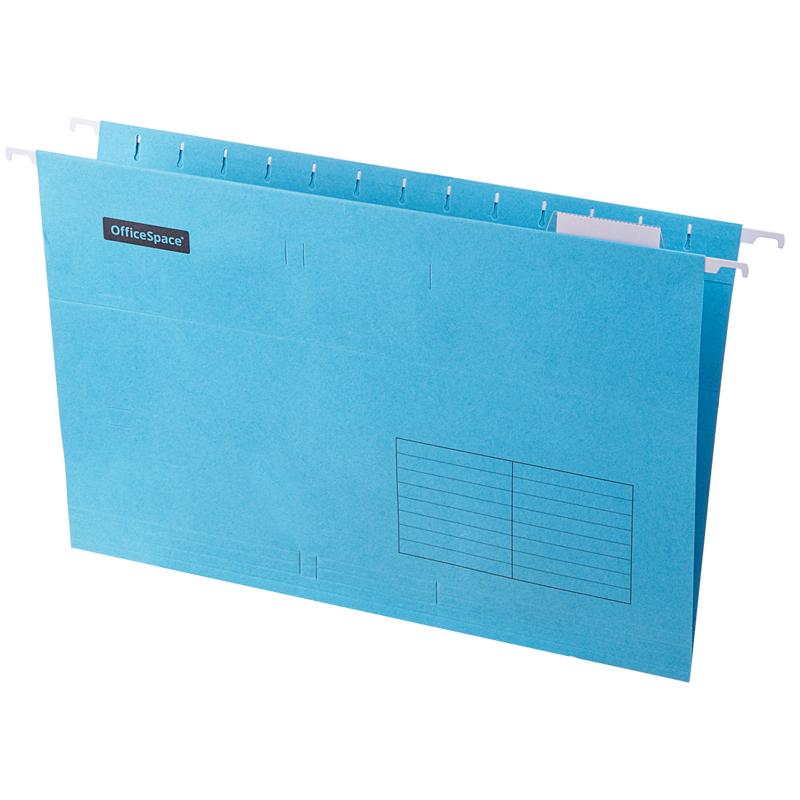 Подвесная папка OfficeSpace Foolscap (365*240мм), синяя