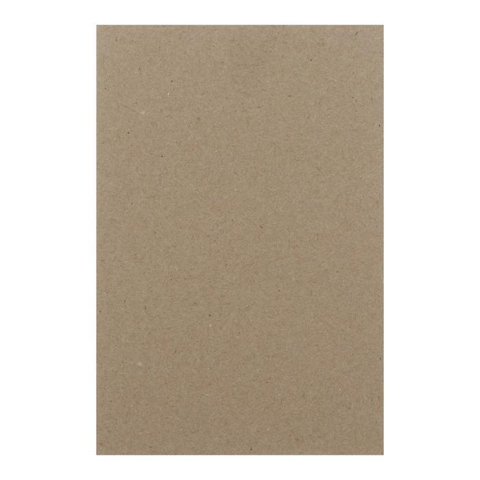 Картон переплетный 1.5 мм 10*15 см 950 г/м? серый