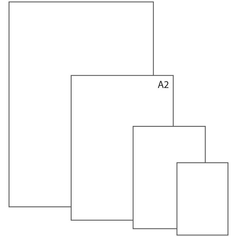 Ватман А2, 420*594, ЛенГознак, 200г/м2
