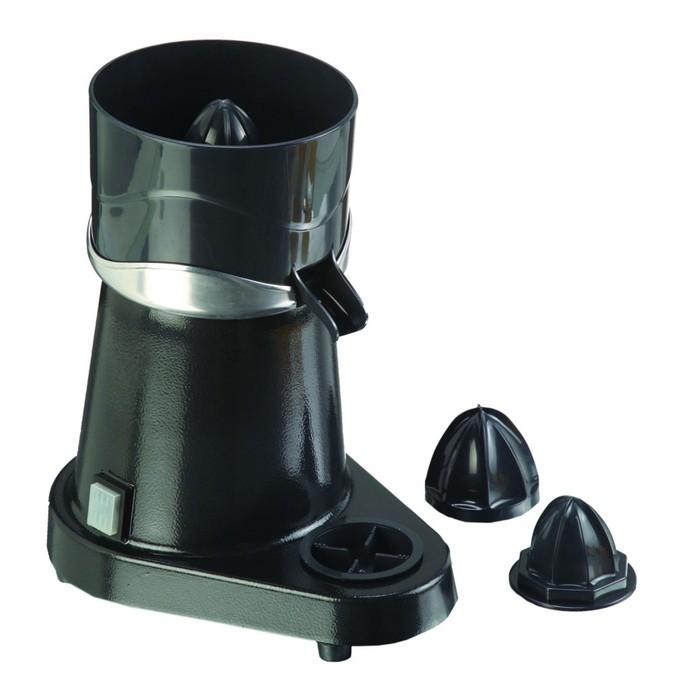 Соковыжималка GASTRORAG SJ-CJ4, для цитрусовых, 180 Вт, 3 сменных конуса, чёрная