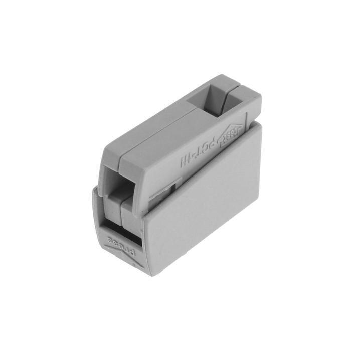 Клемма линейная Luazon Lighting, 24A, 0,5-2,5 мм2, 1P