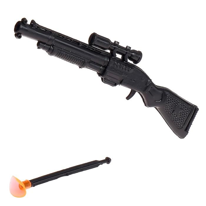 Ружьё «Охотник», стреляет присоской