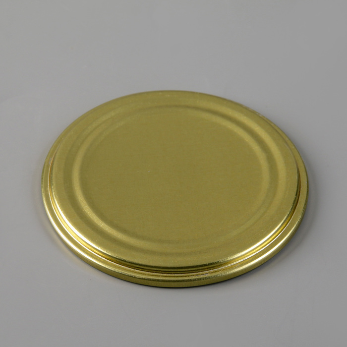 Крышкa для консервировaния «Елaбугa», СКО-82 мм, лaкировaннaя, упaковкa 50 шт, цвет золотой